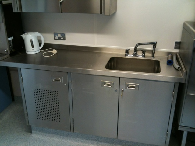 AllBrite Stainless Steel Equipment for Hospital Pantry's